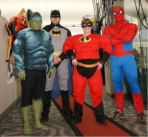 superhero theme for customer service week