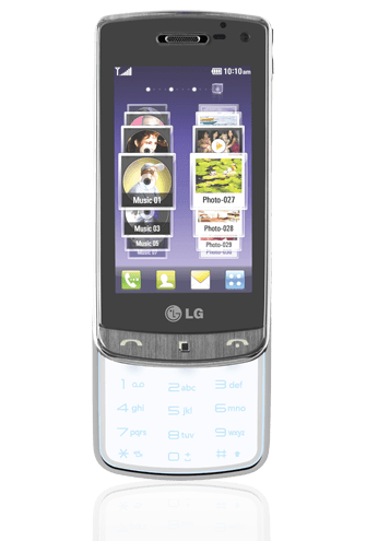 Mobile LG Transparent and Solar