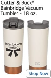 Cutter & Buck Bainbridge Vacuum Tumbler - 18 oz. - Shop Now - Fall promotional items
