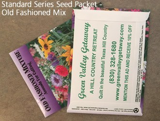 Standard seed packet - old fashioned flower mix