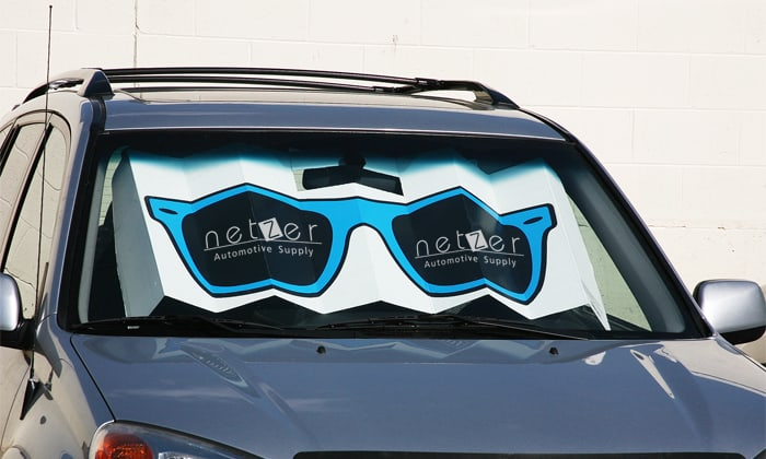 sunglasses car shade